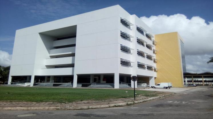 Novo bloco de salas de aula do Campus Básico